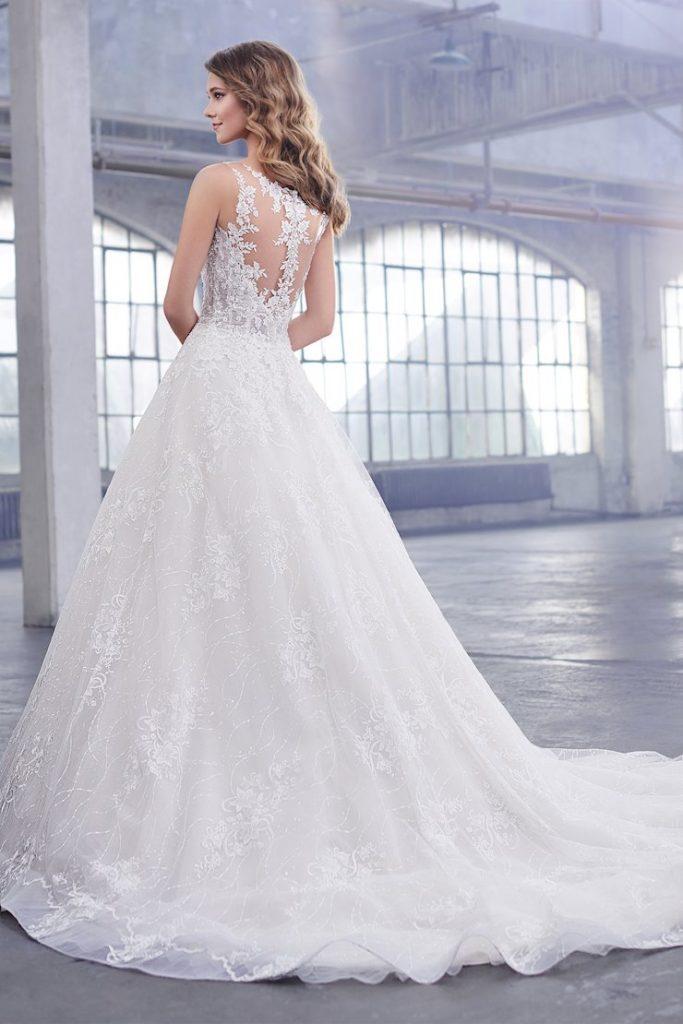 Martin Thornburg Celine esküvői ruha