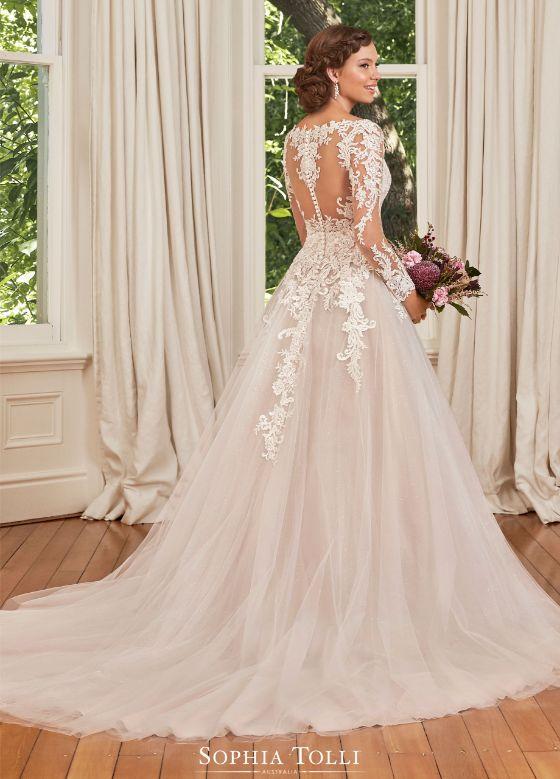 Sophia Tolli Stephanie Grace menyasszonyi ruha